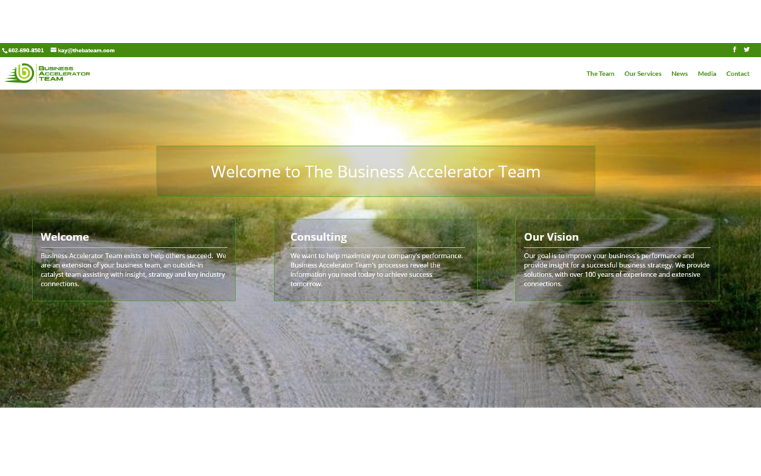 Business Accelerator Team